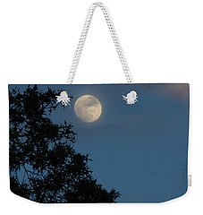 Weekender Tote Bag featuring the photograph Eight Thirty Two Pm by Greg Patzer