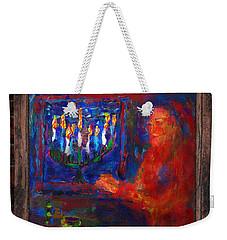 Eighth Day Of Chanukah Weekender Tote Bag