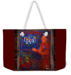 Eighth Day Of Chanukah Weekender Tote Bag