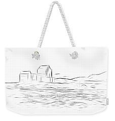 Eilean Donan Castle Digital Art Weekender Tote Bag