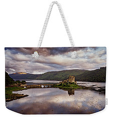 Eilean Donan Castle Weekender Tote Bag by Ian Good