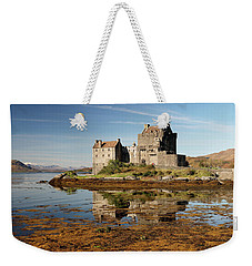 Weekender Tote Bag featuring the photograph Eilean Donan Scotland by Grant Glendinning