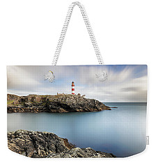 Eilean Glas Lighthouse Scotland Weekender Tote Bag
