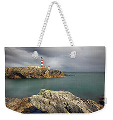 Eilean Glas Lighthouse, Western Isles. Weekender Tote Bag