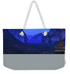 El Capitan Blue Hour Weekender Tote Bag