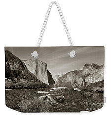 Weekender Tote Bag featuring the photograph El Capitan by Joseph G Holland