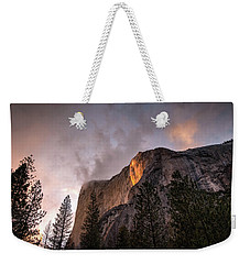 El Capitan Sunset Weekender Tote Bag