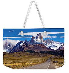 El Chalten 0001 Weekender Tote Bag