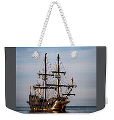 Weekender Tote Bag featuring the photograph El Galeon Andalucia by Dale Kincaid