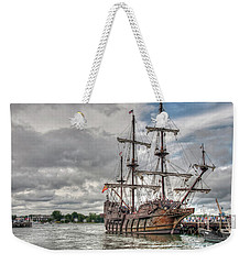 El Galeon Andalucia In Portsmouth Weekender Tote Bag