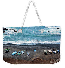 Weekender Tote Bag featuring the photograph El Golfo by Delphimages Photo Creations
