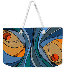 el MariAbelon blue Weekender Tote Bag