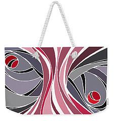 el MariAbelon red Weekender Tote Bag
