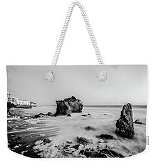Weekender Tote Bag featuring the photograph El Matador State Beach by Margaret Pitcher