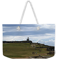 Weekender Tote Bag featuring the photograph El Morro by Lois Lepisto