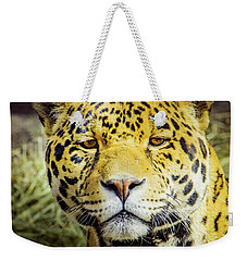 Weekender Tote Bag featuring the photograph El Santo by Janis Knight