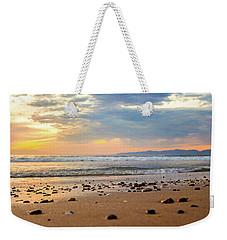 Weekender Tote Bag featuring the photograph El Segundo Beach by April Reppucci