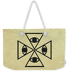 Weekender Tote Bag featuring the digital art El Topo by Ayse Deniz