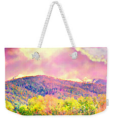El Valle June Hay Days Nostalgia II Weekender Tote Bag