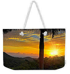 El Yunque Mountain Sunrise Weekender Tote Bag