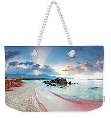 Elafonissi Beach Weekender Tote Bag