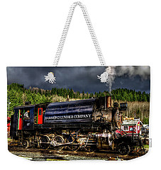 Elbe Steam Engine 17 Hdr 2  Weekender Tote Bag by Rob Green