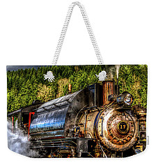 Elbe Steam Engine #17 Hdr Weekender Tote Bag