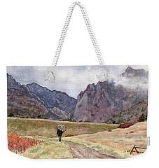 Eldorado Rain Weekender Tote Bag
