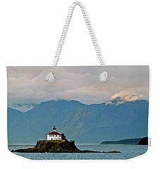 Eldred Rock Lighthouse Skagway Weekender Tote Bag