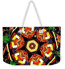 Weekender Tote Bag featuring the digital art Little Devils Roulette by Aliceann Carlton