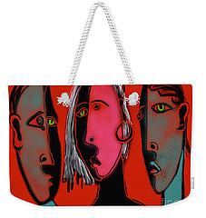 Election Reaction Weekender Tote Bag