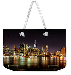 Electric City Weekender Tote Bag by Az Jackson