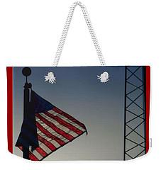 Electric Flag Weekender Tote Bag
