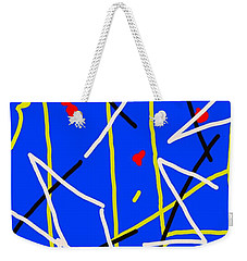 Electric Midnight Weekender Tote Bag