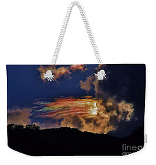 Electric Rainbow Weekender Tote Bag by Craig Wood