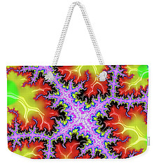 Electric Weekender Tote Bag by Rajiv Chopra