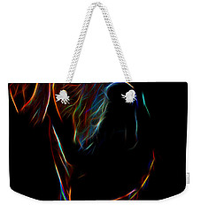 Electric Ridgeback Weekender Tote Bag by Mim White