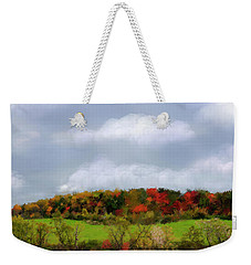 Electric Sky Weekender Tote Bag by Mary Timman