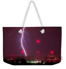 Electric Transmission Weekender Tote Bag