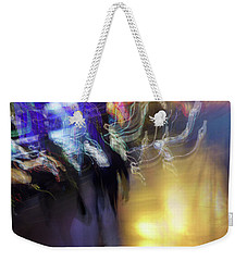 Weekender Tote Bag featuring the photograph Electrical Storm by Alex Lapidus