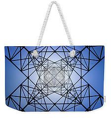 Electrical Symmetry Weekender Tote Bag
