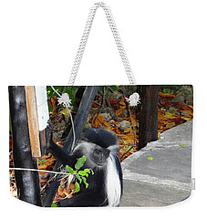 Electrical Work - Monkey Power Weekender Tote Bag