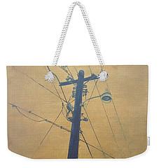 Electrified Weekender Tote Bag