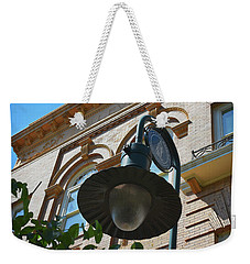 Weekender Tote Bag featuring the photograph Electrifying  Architecture by Skip Willits