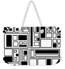 Electronic City Weekender Tote Bag
