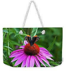 Elegant Butterfly Weekender Tote Bag