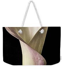 Elegant Calla Weekender Tote Bag