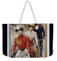 Elegant Fongers Vintage Stylish Cycle Poster Weekender Tote Bag