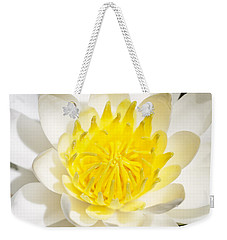 Elegant Lotus Weekender Tote Bag by Christopher L Thomley