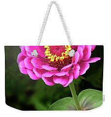 Elegant Zinnia Soft Glow Weekender Tote Bag